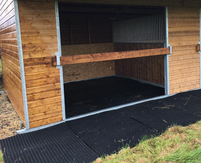 equestrian stables, stable mats, field shelters, muck trailers, equine accessories in Lancashire